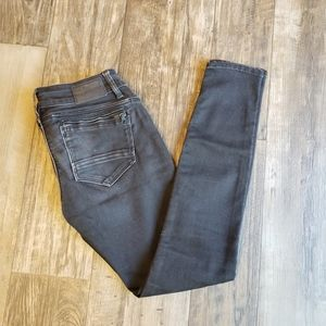 RAW Low Super Skinny Midge Black Jeans